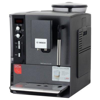 Кофемашина Bosch TES 55236RU (TES 55236RU)Кофемашины Bosch<br>кофеварка эспрессо<br>    автоматическая<br>    кофемолка с регулировкой степени помола<br>    настройка температуры<br>    регулировка порции воды<br>    самоочистка от накипи<br>    автоматическое приготовление капучино<br>    отключение при неиспользовании<br>    одновременная раздача на 2 чашки<br>