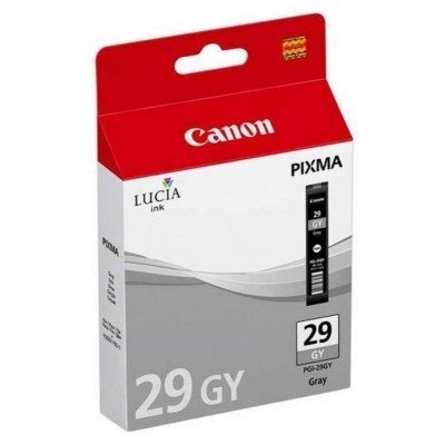 Картридж для струйных аппаратов Canon PGI-29GY для PRO-1. Серый. 179 страниц. (4871B001)Картриджи для струйных аппаратов Canon<br>Картридж Canon PGI-29GY для PRO-1. Серый. 179 страниц.<br>