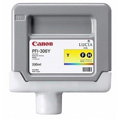 Картридж для струйных аппаратов Canon PFI-306 Y Жёлтый. 330 мл. (6660B001)Картриджи для струйных аппаратов Canon<br>Картридж Canon PFI-306 Y для плоттера iPF8400SE/8400S/8400/9400S/9400. Жёлтый. 330 мл.<br>