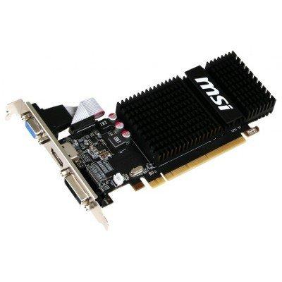 Видеокарта ПК MSI Radeon R5 230 625Mhz PCI-E 2.1 2048Mb 1066Mhz 64 bit DVI HDMI HDCP (R5 230 2GD3H LP)Видеокарты ПК MSI<br>Видеокарта 2Gb &amp;lt;PCI-E&amp;gt; MSI R5 230 2GD3H LP &amp;lt;HD5 230, GDDR3, 128 bit, HDCP, VGA, DVI, HDMI, Low Profile, Retail&amp;gt;<br>
