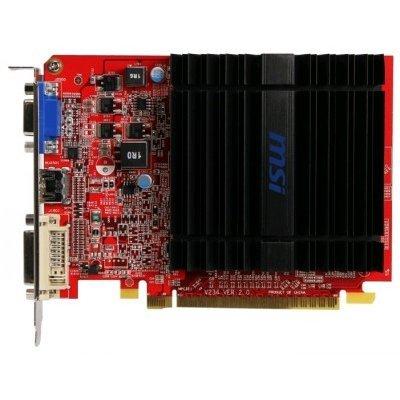 Видеокарта ПК MSI Radeon R5 230 625Mhz PCI-E 2.1 1024Mb 1000Mhz 64 bit DVI HDMI HDCP (R5 230 1GD3H)Видеокарты ПК MSI<br>Видеокарта 1Gb &amp;lt;PCI-E&amp;gt; MSI R5 230 1GD3H &amp;lt;HD5 230, GDDR3, 64 bit, HDCP, VGA, DVI, HDMI, Passive, Retail&amp;gt;<br>