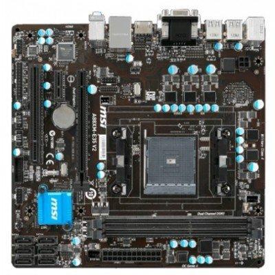 Материнская плата ПК MSI A88XM-E35 V2 (A88XM-E35 V2)Материнские платы ПК MSI<br>Мат. плата MSI A88XM-E35 V2 &amp;lt;SFM2+, AMD A88, 2*DDR3, 2*PCI-E16x, SVGA, DVI, HDMI, SATA III, SATA RAID, GB Lan, mATX, Retail&amp;gt;<br>