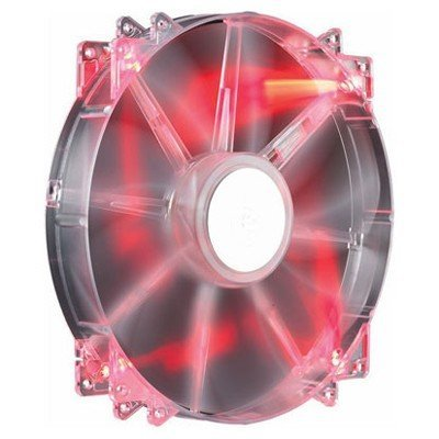 Система охлаждения корпуса ПК CoolerMaster MegaFlow 200 Red LED (R4-LUS-07AR-GP) (R4-LUS-07AR-GP)Системы охлаждения корпуса ПК CoolerMaster<br>Вентилятор Cooler Master MegaFlow 200 Red LED Silent Fan (R4-LUS-07AR-GP) 200x200x30 мм<br>