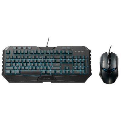 Комплект клавиатура + мышь CoolerMaster Cooler Master Octane (SGB-3020-KKMF1-RU)Комплекты клавиатура мышь CoolerMaster<br>Комплект Клавиатура+мышь Cooler Master Octane. Мышь: 3500 DPI, кл-ра мем-ная, 7 мульт. кл. 3 уровня яркости, 7 цв. подсветки.<br>