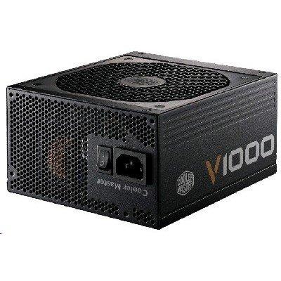 Блок питания ПК CoolerMaster V1000 1000W (RS-A00-AFBA-G1) (RSA00-AFBAG1-EU)Блоки питания ПК CoolerMaster<br>Блок питания Cooler Master 1000W (RSA00-AFBAG1-EU) v.2.31,A.PFS,80 Plus Gold,Fan 13,5 cm,Fully Modular,Retail<br>