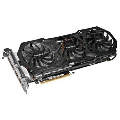 Видеокарта ПК Gigabyte GeForce GTX 980 1178Mhz PCI-E 3.0 4096Mb 7000Mhz 256 bit 2xDVI HDMI HDCP (GV-N980WF3OC-4GD)Видеокарты ПК Gigabyte<br>Видеокарта 4Gb &amp;lt;PCI-E&amp;gt; GIGABYTE GV-N980WF3OC-4GD с CUDA &amp;lt;GFGTX980, GDDR5, 256bit, 2*DVI, HDMI, 3*DP, Retail&amp;gt;<br>