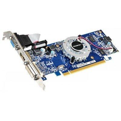 Видеокарта ПК Gigabyte Radeon R5 230 625Mhz PCI-E 2.1 1024Mb 1066Mhz 64 bit DVI HDMI HDCP (GV-R523D3-1GL) видеокарта gigabyte radeon rx 460 1212mhz pci e 3 0 2048mb 7000mhz 128 bit dvi hdmi hdcp gv rx460wf2oc 2gd
