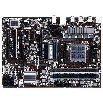 Материнская плата ПК Gigabyte GA-970A-DS3P (rev. 1.0) (GA-970A-DS3P)Материнские платы ПК Gigabyte<br>Мат. плата GIGABYTE GA-970A-DS3P &amp;lt;SAM3+, AMD 970 + SB950, 4*DDR3, 2*PCI-E16x, SATA RAID, SATA III, USB 3.0, GB Lan, ATX, Retail&amp;gt;<br>