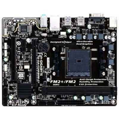 Материнская плата ПК Gigabyte GA-F2A68HM-S1 (rev. 1.0) (GA-F2A68HM-S1) gigabyte ga h81m s2pv rev 1 0