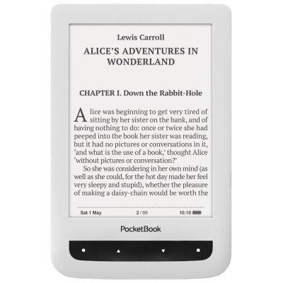 Электронная книга PocketBook 626 PLUS белый (PB626(2)-D-RU) pocketbook 301 комфорт в москве