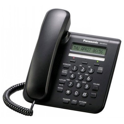VoIP-телефон Panasonic KX-NT511PRUB (KX-NT511PRUB) телефон panasonic kx ts2356rub черный