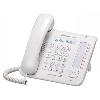 VoIP-телефон Panasonic KX-NT551RU белый (KX-NT551RU), арт: 220201 -  VoIP-телефоны Panasonic