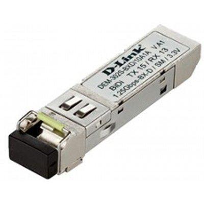 Трансивер D-Link DEM-302S-LX/A1A (DEM-302S-LX/A1A)Трансиверы D-Link<br>Модуль D-Link DEM-302S-LX/A1A SFP-трансивер с 1 портом 1000Base-LX для одномодового оптического кабеля (до 2 км)<br>