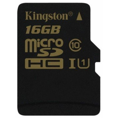 Карта памяти Kingston 16GB MicroSDHC Class 10 UHS-I без адаптера (SDCA10/16GBSP)Карты памяти Kingston<br>Карта памяти MicroSDHC 16GB Kingston Class10 UHS-I без адаптера<br>