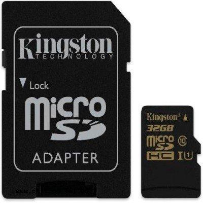 Карта памяти Kingston 32GB microSDHC Class 10, без адаптера (SDCA10/32GBSP) (SDCA10/32GBSP)Карты памяти Kingston<br>Карта памяти MicroSDHC 32GB Kingston Class10, без адаптера (SDCA10/32GBSP)<br>