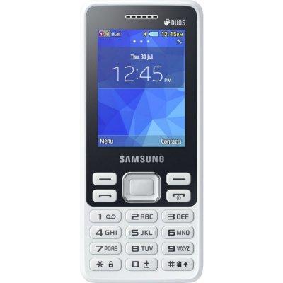 Мобильный телефон Samsung Metro B350E (SM-B350EZWASER)Мобильные телефоны Samsung<br>поддержка двух SIM-карт, телефон с классическим корпусом, экран 2.4, разрешение 320x240, камера 2 МП, память 32 Мб<br>