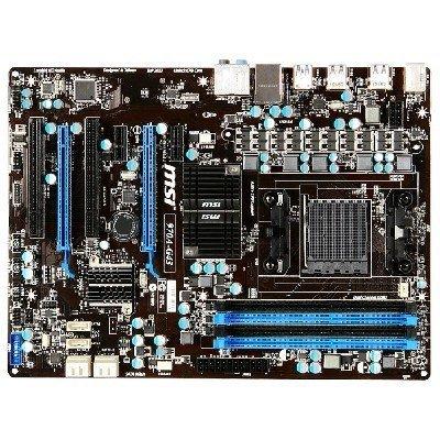 Материнская плата ПК MSI 970A-G43 (970A-G43)Материнские платы ПК MSI<br>Мат. плата MSI 970A-G43 &amp;lt;SAM3+, AMD970GX, 4*DDR3, 2*PCI-E16x, SATA III, SATA RAID, USB 3.0, GB Lan, ATX, Retail&amp;gt;<br>