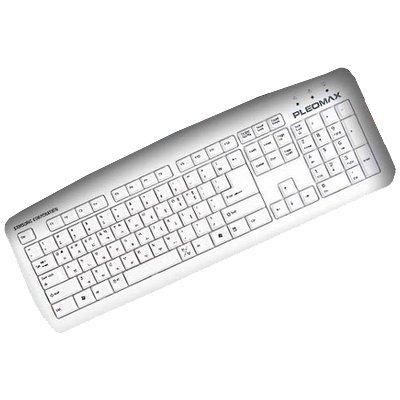 Клавиатура Samsung PKB-750 White PS/2 (PKB-750W)Клавиатуры Samsung<br>проводная клавиатура<br>    интерфейс PS/2<br>    для настольного компьютера<br>    классическая конструкция<br>    клавиш: 104<br>