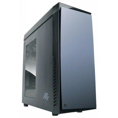 Корпус системного блока ZALMAN R1 Black (R1)Корпуса системного блока ZALMAN<br>Корпус Zalman R1, ATX Midi Tower, без БП, 192(Ш) x 465(В) x 430(Г) мм, черный, ATX/ Micro ATX/ MINI-ITX, совместим с видеокартами до 360мм, отсеки 5.25х2, 3.5х4, 2.5х1, USB 2.0x2, USB 3.0x1<br>