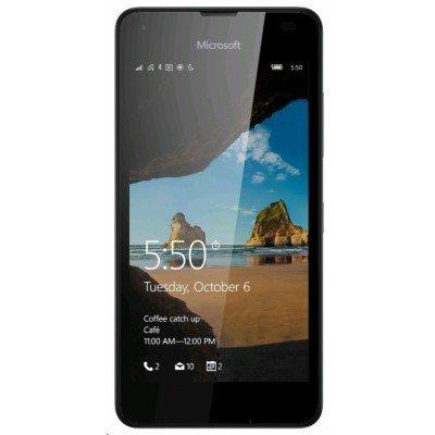 Смартфон Microsoft Lumia 550 черный (Lumia 550)Смартфоны Microsoft<br>Windows Mobile, экран 4.7, разрешение 1280x720, камера 5 МП, автофокус, память 8 Гб, слот для карты памяти<br>