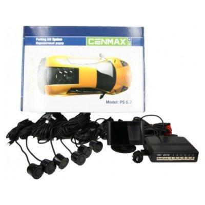 Парктроник Cenmax РS-6.2 BLACK (РS-6.2 BLACK)Парктроники Cenmax<br>Зона сканирования: спереди и сзади; Устройство: проводной; Передних датчиков: 2 шт; Задних датчиков: 4 шт; Расстояние сканирования: 0,2 — 2,5 м; Индикация: дисплей; Цвет внутреннего блока: черный;<br>
