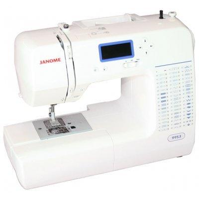 Швейная машина Janome 9953 белый (9953) швейная машина janome dresscode белый