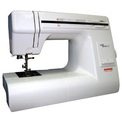 Швейная машина Janome 23L My Excel белый (23L)Швейные машины Janome<br>швейная машина<br>    электромеханическое управление<br>    плавная работа без вибрации<br>    23 швейных операций<br>    автоматическая обработка петли<br>    обметочная строчка<br>    рукавная платформа<br>
