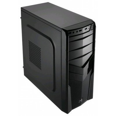 Корпус системного блока Aerocool V2X Black Edition Black (4713105952643) корпус aerocool v3x advance black edition 600w