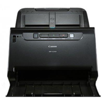 Сканер Canon DR-C240 (0651C003)Сканеры Canon<br>протяжный сканер, формат A4<br>    интерфейс USB 2.0<br>    разрешение 600x600 dpi<br>    одностороннее устройство автоподачи<br>    датчик типа CIS<br>