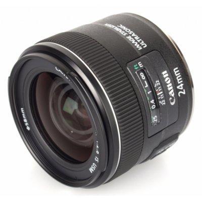 Объектив для фотоаппарата Canon EF 24mm f/2.8 IS USM (5345B005) объектив для фотоаппарата