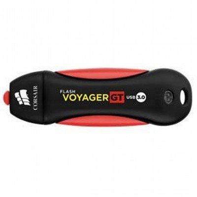 USB накопитель Corsair Voyager GT CMFVYGT3B-32GB USB3.0 черный/красный (CMFVYGT3B-32GB), арт: 220774 -  USB накопители Corsair