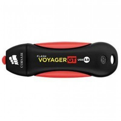 USB накопитель Corsair Voyager GT CMFVYGT3B-32GB USB3.0 черный/красный (CMFVYGT3B-32GB) usb накопитель corsair flash voyager vega 32gb cmfvv3 32gb