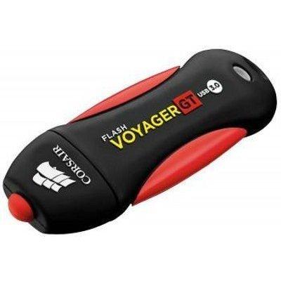 USB накопитель Corsair Voyager GT CMFVYGT3B-64GB USB3.0 черный/красный (CMFVYGT3B-64GB), арт: 220781 -  USB накопители Corsair