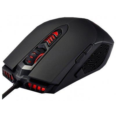 Мышь ASUS ROG GX860 Buzzard Mouse Black USB (90XB02C0-BMU000)Мыши ASUS<br>проводная мышь<br>    интерфейс USB<br>    для настольного компьютера<br>    лазерная, 10 клавиш (программируемые)<br>    разрешение сенсора мыши 5600 dpi<br>