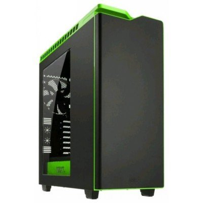Корпус системного блока NZXT H440 Razer Black/green (H440 Razer Black/green)Корпуса системного блока NZXT<br>Корпус NZXT H440 Razer черный/зеленый w/o PSU ATX 7x120mm 5x140mm 2xUSB2.0 2xUSB3.0 audio bott PSU<br>