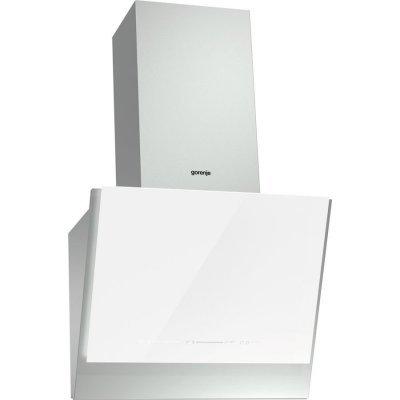 Вытяжка Gorenje WHI651S1XGW (WHI651S1XGW)Вытяжки Gorenje<br>Вытяжки GORENJE/ Тип каминная наклонная, 60см, мощность 641 куб.м, сенсорное управление, белая<br>