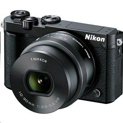 Цифровая фотокамера Nikon 1 J5 kit 10-30mm f/3.5-5.6 VR черный (VVA241K001) зеркальный фотоаппарат nikon d3400 kit 18 105mm f 3 5 5 6 vr черный