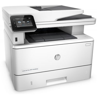 Монохромный лазерный МФУ HP LaserJet Pro MFP M426dw (F6W16A)Монохромные лазерные МФУ HP<br>RU (p/c/s, A4, 600dpi, 38ppm, 256Mb, Duplex,2 trays 100+250, ADF 50, USB2.0+Walk-Up/GigEth/WiFi/NFC, ePrint, AirPrint, 3y warr, Cartridge 9000 pages.repl.CF288A)<br>