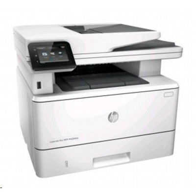 Монохромный лазерный МФУ HP LaserJet Pro MFP M426fdw (F6W15A)Монохромные лазерные МФУ HP<br>(p/c/s/f, A4, 600x600dpi, up to 4800x600,38ppm, 256Mb, Duplex,2 trays 100+250, ADF 50, USB2.0+Walk-Up/GigEth/WiFi/NFC, ePrint, AirPrint, 1y warr, Cartridge 3100 pages.repl.<br>