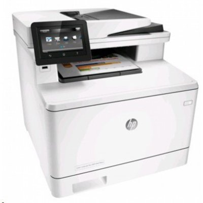 Цветной лазерный МФУ HP Color LaserJet MFP M477fnw (CF377A)Цветные лазерные МФУ HP<br>(p/s/c/f,A4,600dpi,27(27)ppm,2 trays 50+250,Opt.duplex,ADF 50 sheets,TouchScreen,USB/GigEth/Wi-Fi, 1y warr, 4 cart. in box)<br>