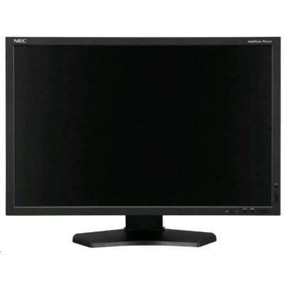 Монитор NEC 24 PA242W-SV2 серебристый (PA242W-SV2) монитор 30 nec pa302w bk sv2 ah ips led 2560x1600 7ms dvi hdmi displayport