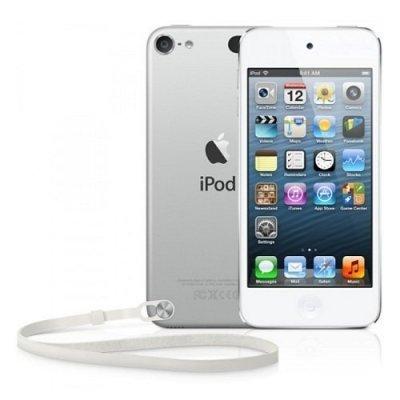 Цифровой плеер Apple iPod touch 64GB серебристый (MKHJ2RU/A)Цифровые плееры Apple<br>iPod touch 64GB - White &amp;amp; Silver<br>