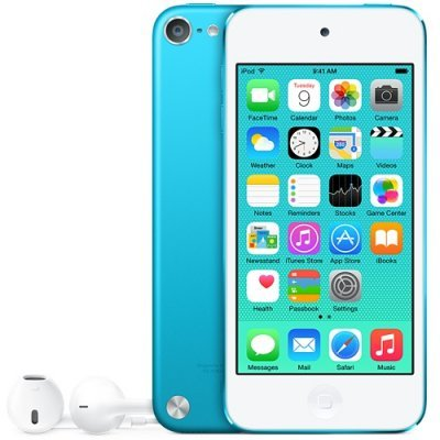 Цифровой плеер Apple iPod touch 16GB голубой (MKH22RU/A)Цифровые плееры Apple<br>iPod touch 16GB - Blue<br>