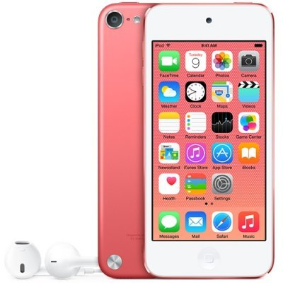 Цифровой плеер Apple iPod touch 16GB розовый (MKGX2RU/A)Цифровые плееры Apple<br>iPod touch 16GB - Pink<br>