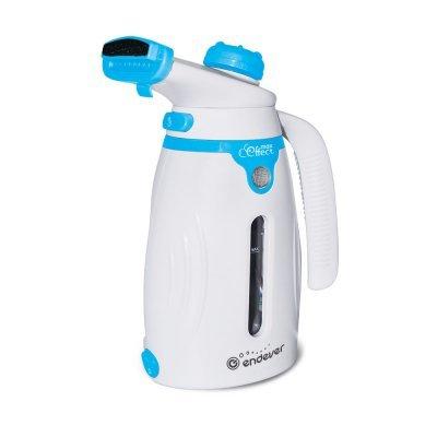 Пароочиститель Endever ODYSSEY Q-419 (60015)Пароочистители Endever<br>Отпариватель ручной Endever Odyssey ODYSSEY Q-419 800Вт белый/голубой<br>