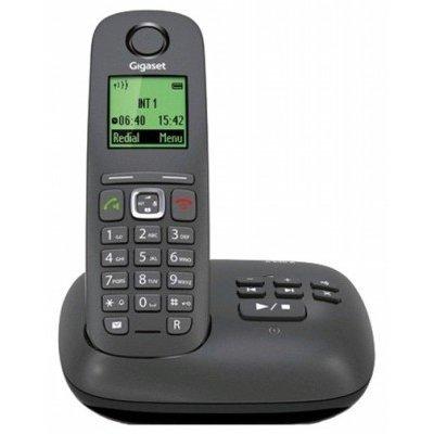 Радиотелефон Gigaset A540A (S30852-H2621-S301)Радиотелефоны Gigaset<br>Р/Телефон Dect Gigaset A540A черный автооветчик<br>