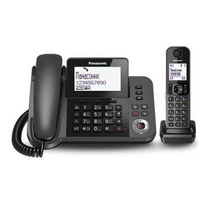 Радиотелефон Panasonic KX-TGF320RUM (KX-TGF320RUM)Радиотелефоны Panasonic<br>Р/Телефон Dect Panasonic KX-TGF320RUM серый металлик автооветчик<br>