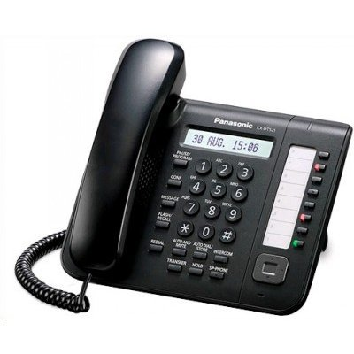 VoIP-телефон Panasonic KX-DT521RU-B (KX-DT521RU-B) системный телефон panasonic kx dt546rub черный [kx dt546ru b]