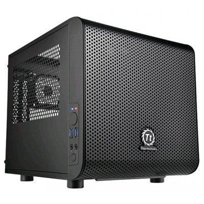 Корпус системного блока Thermaltake Core V1 CA-1B8-00S1WN-00 Black (CA-1B8-00S1WN-00)