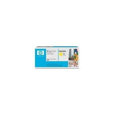 Картридж HP (Q6002A) к HP CLJ 2600 (2000 стр.), желтый (Q6002A)Тонер-картриджи для лазерных аппаратов HP<br>Подходит к HP Color LaserJet 1600 (CB373A), 2600n (Q6455A), 2605dn (Q7822A), 2605dtn (Q7823A),<br>CM1015 (CB394A), CM1017 (CB395A)<br>